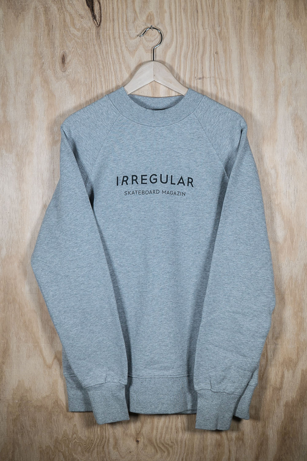 Irregularskatemag-new-logo-sweatshirt-grey